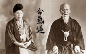 Morihei Ueshiba ve Onisaburo Deguchi